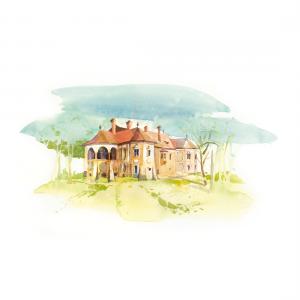 CSILLAG ISTVÁN képeslap - miklósvári Kálnoky kastély