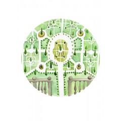Kastélykertek #2 - Keszeg Ágnes print - A3
