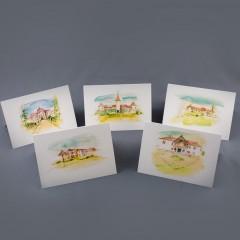 Erdélyi kastélyok képeslapkollekció - #1